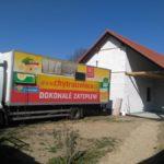 Zateplení podkroví rodinného domu v Hradišti nad Berounkou