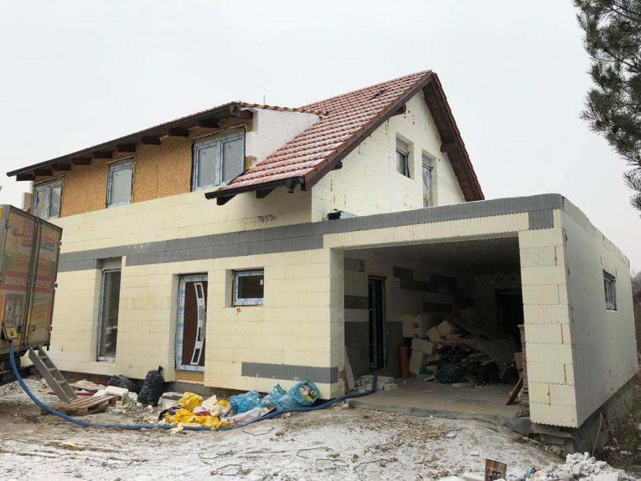 Izolace rodinného domu v Libochovičkách