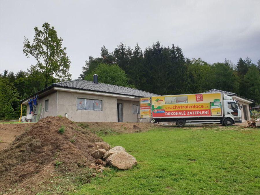 Zateplení rodinného domu v Červeném Poříčí