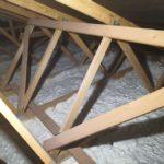 zateplení bungalovu, stropu, na Klatovsku