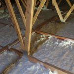 Izolace bungalov Icynene