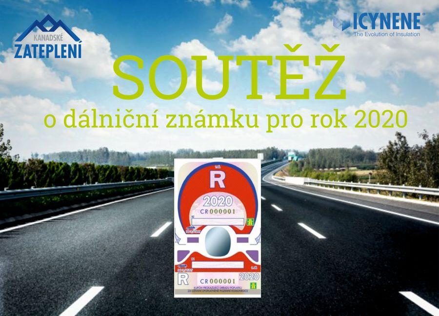 Soutěž o dálniční známku pro rok 2020