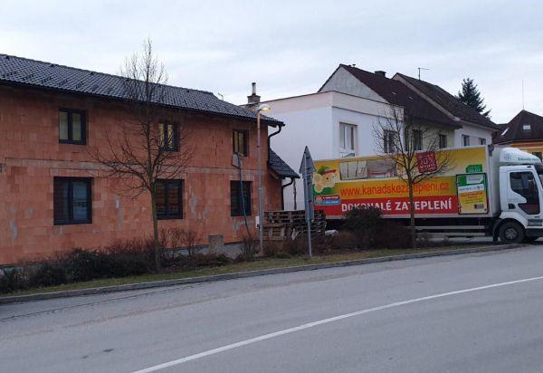 Zateplení rodinného domu v Praze izolací ICYNENE