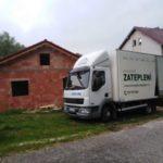 Zateplení novostavby Hořice na Šumavě
