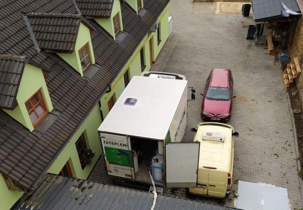 Zateplení penzionu v Pelhřimově