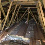 Zateplení stropu bungalovu