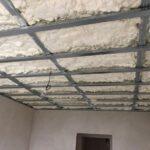 Zateplení stropů novostavby v Pocoucově