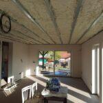 Zateplení stropu rodinného domu Bory
