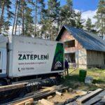 Zateplení chaty v Trnavě