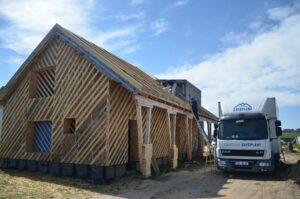 Nadkrokevní zateplení v obci Studénka
